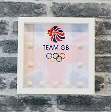 Minifigure Display Case Frame for Lego Team Gb Olympics 8909 minifigs figures