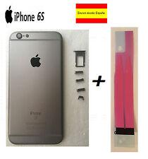 CHASIS IPHONE 6S CARCASA COMPLETA MARCO TAPA TRASERA APPLE GRIS ESPACIAL