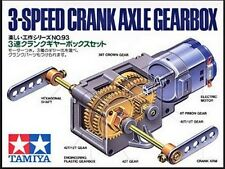 Tamiya 70093 3-Speed Crank Axle Gearbox For DIY Construction/Robotics Model Kit
