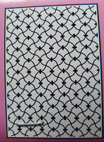 Crafts-Too/CTA4021/Embossing /Folder / Swirling Lattice / A4
