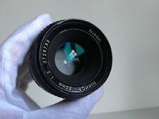 Nikon Nikkor 50mm  f/2 Camera Lens