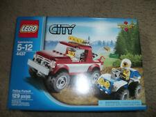 LEGO City Police 4437 Police Pursuit 129 pcs New 2 vehicles 2 mini