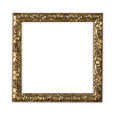 Antique Cushion Ornate Swept Instagram Square Picture, Photo, Poster Frame Gold