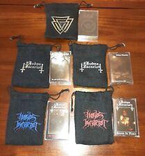 Lot of 5 Black Metal Cassette Tapes Judas Iscariot / Twilight