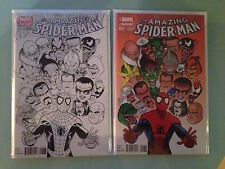 AMAZING SPIDERMAN #1 2014 KEVIN MAGUIRE COLOR & SKETCH VARIANT 1st Cindy Moon