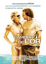 Affiche 120x160cm L'AMOUR DE L'OR /FOOL'S GOLD 2008 McConaughey, Kate Hudson TBE