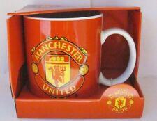 85789 MANCHESTER UNITED FC CERAMIC COFFEE MUG ENGLISH PREMIER LEAGUE SOCCER