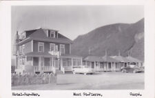 RP: Hotel-Sur-Mer , Mont St-Pierre , Gaspe , Quebec , Canada , 30-40s ; RED ROSE