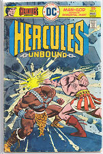 DC Hurcules Unbound, Four Book Lot, VG Condition