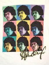 Jimi Hendrix Art Pop Portrait Blues rock Music T Shirt M