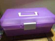 Purple Craft Cake Making Storage Box