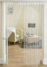Glam String Panel Room Divider Door Curtain Sparkly Bright Colours Modern