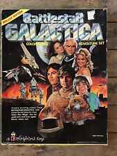 Deluxe Edition 1978 Battlestar Galactica Adventure Set Vintage Colorforms Set