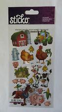 Sticko FARM FRIENDS - Stickers of Multiple Farm Animals