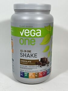 Vega One All-In-One Nutritional Shake Chocolate 19 Servings Plant Based 30.9 Oz