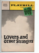 Lovers And Other Strangers Brooks Atkinson Theatre Playbill 1968 NYC Lampert VG