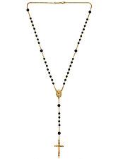Dolce & Gabbana Black & Gold Rosary Necklace ** Harrods** BNWT