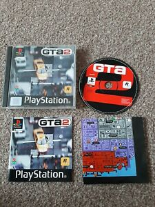 Grand Theft Auto GTA 2 Sony Playstation 1 PS1 Game With Manual + Map