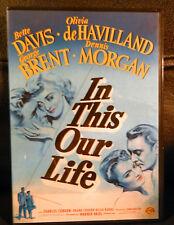 IN THIS OUR LIFE: DVD. BETTE DAVIS. REGION 2.