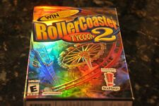 ROLLER COASTER TYCOON 2 PC GAME SIX FLAGS EDITION WITH MANUAL