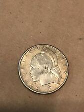 1960 Republic Of Liberia 25 Cents Silver Coin Quarter World Foreign