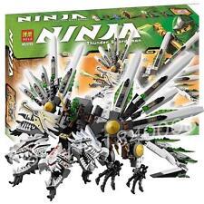Ninja 4 heads dragon snake & 6 figures super samurai heroes action fighter #9789