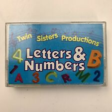 Letters & Numbers Twin Sisters Productions (Cassette)