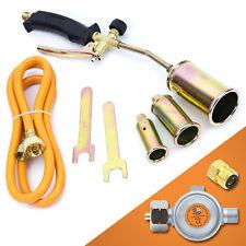 Gasbrenner Dachbrenner Gaslötgerät Abflammgerät Brenner Gasdruckregler (SN0286R)