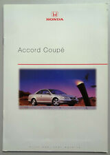 V13561 HONDA ACCORD COUPE - CATALOGUE - 10/99 - A4 - B FR