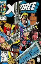 Marvel Comics 1991 X-FORCE #22 Baged & Boarded Near Mint Deadpool Domino NM