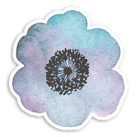 5 x Watercolour Flower Stickers Planner Decals Wall MacBook Laptop iPad