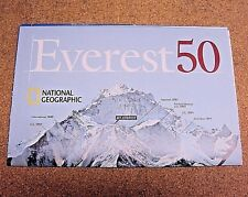 National Geographic May 2003 Map Everest 50