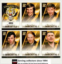 2008 AFL Richmond Football Club Immortals Trading Card Set (6)