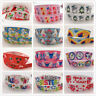Crafts Wholesale! 5 yds 1'' (25mm) printed grosgrain ribbon Hair bow sewing New