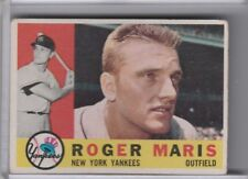 1960 TOPPS #377 ROGER MARIS NEW YORK YANKEES  6228