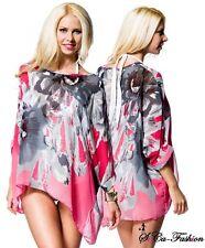 Markenlose geblümte Langarm Damenblusen, - tops & -shirts keine Mehrstückpackung