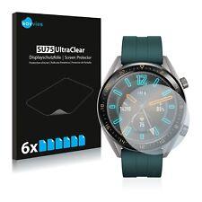 6x Huawei Watch GT Active Displayschutzfolie Klar Transparent Schutzfolie