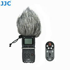 JJC 1.4m Wired Remote Control & Windscreen Windshield for Zoom H5 Handy Recorder