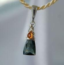 Echtschmuck aus Sterlingsilber mit natürlichem Aquamarin-Hauptstein für Damen