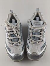 Skechers Shape Ups #11803  Women's Walking Toning Shoes  White/Blue   Size 9