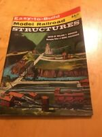 Easy to Build Model Railroad Structures By Willard Anderson Soft Cover 1978