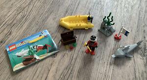 LEGO Systems - [6555] - Sea Hunter - mit Anleitung - Set Nr 6555 - Schatztaucher