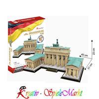 Cubic Fun - 3D Puzzle Brandenburger Tor Berlin Deutschland Groß 1:140