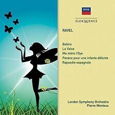 Pierre Monteux - Ravel: Ma Mere L'oye / Bolero / la Valse / Pavane [New CD] Aust