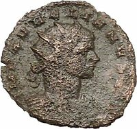 Aurelian with Roma seated 272AD Authentic Ancient Roman Coin  i40804
