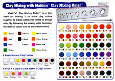 Makin's Usa Clay Mixing Ruler, 8-Inch-Make 100s of New Colors Using This Tool