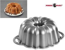 "Nordicware 6 Cup ANNIVERSARY BUNDT CAKE Pan 8 1/2"" HEAVY WEIGHT Cast Alum 51237"