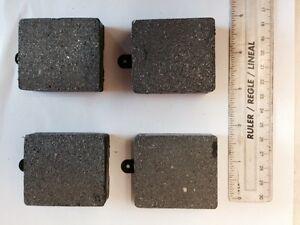 JENSEN INTERCEPTOR 1966 - 1968 FRONT AND REAR BRAKE DISC PADS SET OF 4 DP35AF