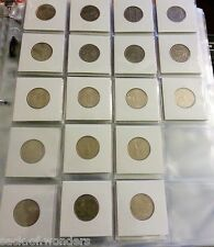 ( 7 ) 20-Pockets 2x2 Coins Currency Holders Inserts  Sleeves Collector Pages