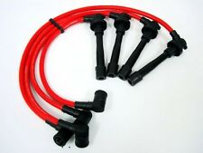 VMS RACING 92-95 HONDA CIVIC EX DX SI 10.2MM 10.2 MM SPARK PLUG WIRES SET RED